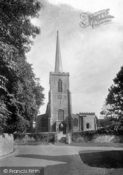 Little Walsingham, St Mary's Church 1926
