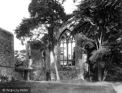 Little Walsingham, The Abbey Refectory 1926