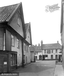 Little Walsingham, The Black Lion Hotel 1929