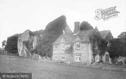Little Walsingham, The Friary 1922