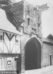 Little Walsingham, The Priory Gateway c.1965
