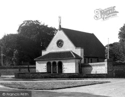 Little Walsingham, The Sanctuary Of Our Lady Of Walsingham 1933