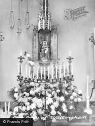 Little Walsingham, The Shrine Of Our Lady Of Walshingham c.1955