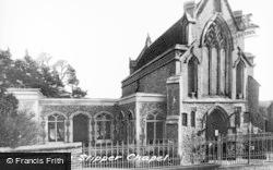 Little Walsingham, The Slipper Chapel c.1955