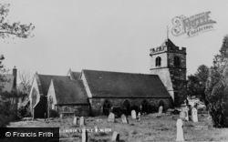 Little Wenlock, St Laurence Church c.1955