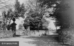 Little Wenlock, The Old Rectory c.1955