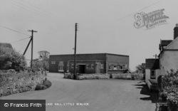 Little Wenlock, The Village Hall c.1960