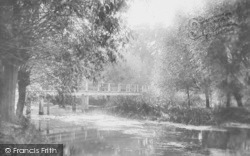 Day's Lock, Backwater 1890, Little Wittenham