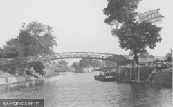 Day's Lock c.1950, Little Wittenham