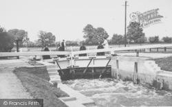 Day's Lock c.1955, Little Wittenham