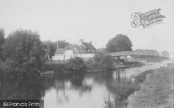The Bridge, Day's Lock 1890, Little Wittenham