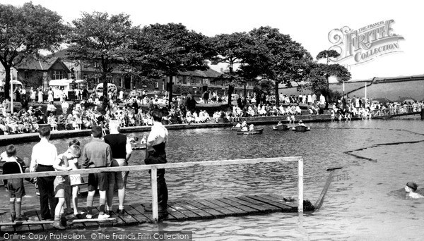 Littleborough, Hollingworth Lake c1960