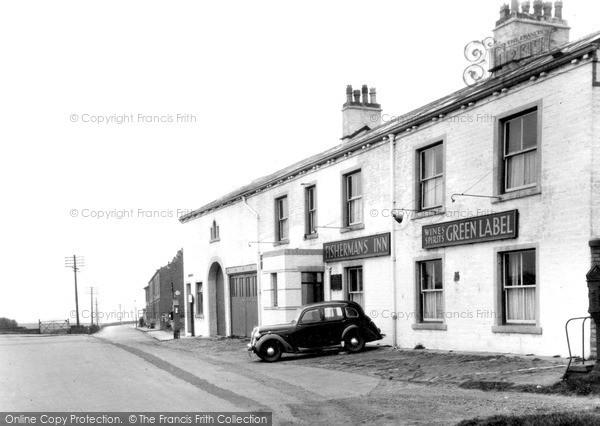 Littleborough, the Fishermans Inn c1950
