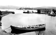 Littleborough, the Harbour, Hollingworth Lake c1955