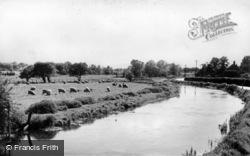 Littlebourne, Lesser Stour c.1960