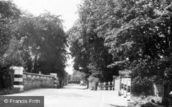 Littlebourne, The Bridge c.1960