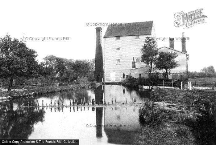 Littlebourne,The Mill 1903,Kent