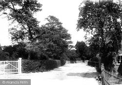 Littlebourne, The Village 1903