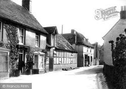 Littlebourne, The Village c.1903