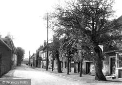 Littlebourne, Village 1903