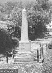 Littledean, The Memorial c.1955