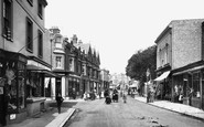 Littlehampton, High Street 1892