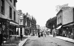 Littlehampton, High Street 1892