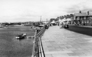 Littlehampton, Pier Road And River Arun c.1960