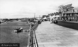 Littlehampton, Pier Road And River Arun c.1960
