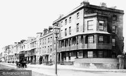 Littlehampton, South Terrace 1890