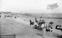 Littlehampton, The Beach 1898