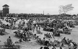 Littlehampton, The Beach c.1950