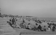Littlehampton, The Beach c.1955