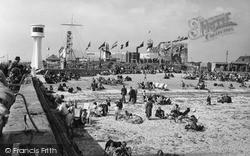 Littlehampton, The Beach c.1955