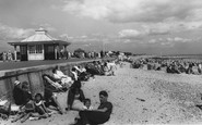 Littlehampton, The Beach c.1960