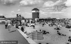 Littlehampton, The Beach c.1965