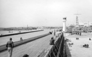 Littlehampton, The Pier c.1955