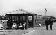 Littlehampton, The Promenade Shelter 1898