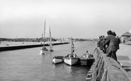 Littlehampton, The River Arun c.1950