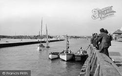 Littlehampton, The River Arun c.1950