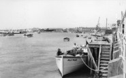 Littlehampton, The River Arun c.1955