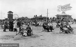 Littlehampton, The Sands c.1950