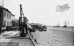 Littlehampton, The Wharf 1890