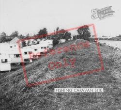 Fishing Caravan Site c.1960, Littleport