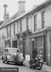 Main Street, Window Shopping c.1955, Littleport