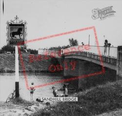 Sandhill Bridge c.1960, Littleport