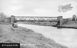 Littleport, Sandhills Bridge c.1955
