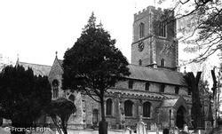 Littleport, St George's Parish Church c.1955