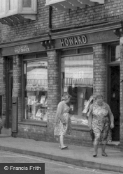 Two Ladies By The Post Office c.1955, Littleport