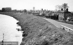 Littleport, View From The Bridge c.1955